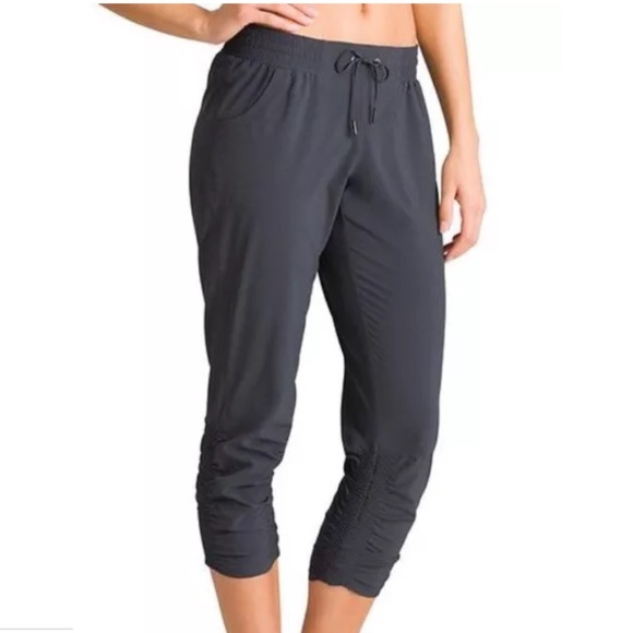 Athleta Pants Jumpsuits Prima Loose Ruched Capri Yoga Pants Poshmark